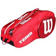 Wilson Team III 6 Pack Red White - Sportovní taška