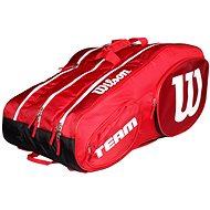 Wilson Team III 12 Pack Red White - Sportovní taška