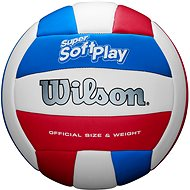 Wilson SUPER SOFT PLAY VB WHRDBLUE, size 5 - Volleyball