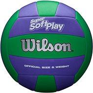 Wilson Super Soft Play VB Purple/Green - Volejbalový míč