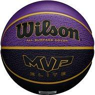 Wilson MVP Elite bskt purple/black, vel. 7 - Basketbalový míč