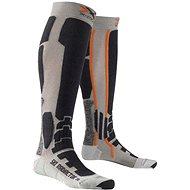 X-SOCKS - SKI RADIACTOR XITANIT TECHNOLOGY Silver / Anthracite - Lyžařské ponožky