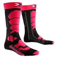 X-SOCKS - SKI CONTROL 2.0 LADY Light Grey Melange Violet - Dámské lyžařské ponožky