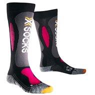 X-SOCKS - Ski Carving Silver Woman - Dámské lyžařské ponožky
