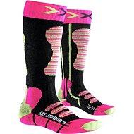 X-SOCKS - SKI JUNIOR Fuchsia Yellow - Dětské lyžařské ponožky