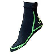 Xbeach černé L - Neoprenové ponožky
