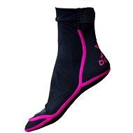Xbeach magenta L - Neoprenové ponožky