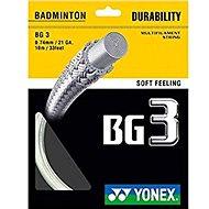 Yonex BG 3, White - Badminton Strings