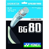 Yonex BG 80, White, 200m - Badminton Strings