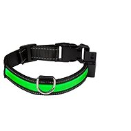 Eyenimal shining collar for dogs - green - M - Collar