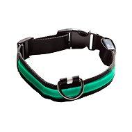 Eyenimal svítící obojek pro psy - zelený XS - XL