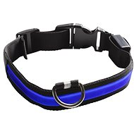 Eyenimal Shining Collar for Dogs - Blue - L - Collar