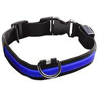 Eyenimal svítící obojek pro psy - modrý - XS - XL