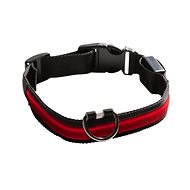 Eyenimal shining collar for dogs - red - S - Collar