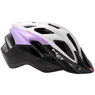 MET FUNANDGO glossy lila / black / white S / M 52-57 - Bike helmet