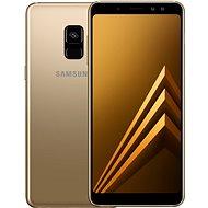 Samsung Galaxy A8 Duos zlatý - Mobilní telefon