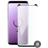 Screenshield SAMSUNG G960 Galaxy S9 Tempered Glass Protection (black - CASE FRIENDLY) na displej - Ochranné sklo
