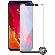 Screenshield XIAOMI Mi 8  (full COVER black) - Ochranné sklo