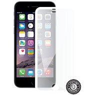Ochranné sklo Screenshield APPLE iPhone 6 WHITE metalic frame - Ochranné sklo