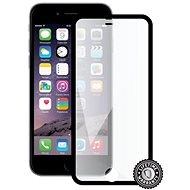 Screenshield APPLE iPhone 6 Black Metalic Frame BULK - Ochranné sklo