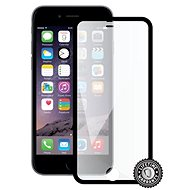 Screenshield APPLE iPhone 6/6s Plus BLACK frame - Ochranné sklo