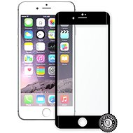 Screenshield APPLE iPhone 7 Plus metalic frame - Ochranné sklo