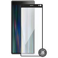 Screenshield SONY Xperia 10 Plus (full COVER black) - Ochranné sklo