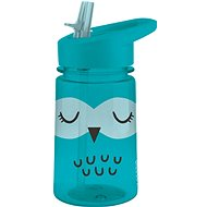 Aladdin Dětská láhev s brčkem Zoo Flip & Sip Sova - Láhev na pití