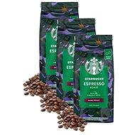 Starbucks® Espresso Roast, zrnková káva, 450g; 3x - Káva
