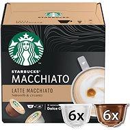 STARBUCKS® Latte Macchiato by NESCAFE® DOLCE GUSTO® kávové kapsle 12 ks