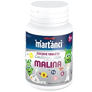 Marťánci cucavé tablety malina tbl.30 - Multivitamín