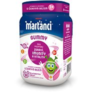 Marťánci Gummy Elderberry 20mg 50 Tablets - Multivitamin