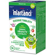 Martians with Imunactiv MIX 90 Tablets - Multivitamin