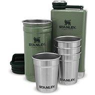 STANLEY Dárkový set placatka a panáky 4ks ADVENTURE SERIES, zelená - Termoska