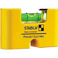 Stabila vodováha Pocket electric clip - Vodováha