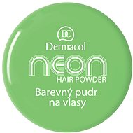 DERMACOL Neon Hair Powder No.6 - Green 2,2 g - Pudr na vlasy
