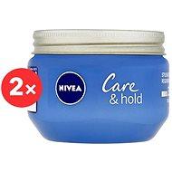 NIVEA Styling Cream Care&Hold 2 × 150 ml - Gel na vlasy