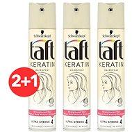 SCHWARZKOPF TAFT Keratin 3× 250 ml