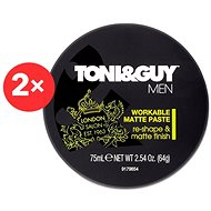 TONI&GUY Men Workable Matte Paste 2 × 75 ml - Pasta na vlasy