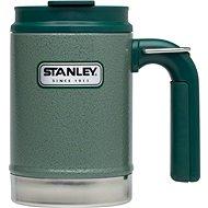 STANLEY Termohrnek outdoor Classic series 470 ml zelený s uchem a očkem - termohrnek