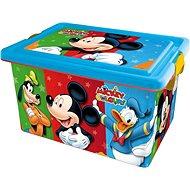 STOR Plastový box 13 L MICKEY COLOURS - Úložný box