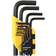 Stanley Sada zástrčných klíčů 1,5 - 10mm 9dílná 1-13-929 - Sada imbusů
