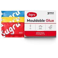 Sugru Mouldable Glue 3 pack - červené, modré, žluté - Lepidlo