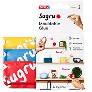 Sugru Red, Blue, Yellow 3 Pack