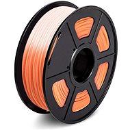 Sunlu 1.75mm PLA 1kg měnící oranžová - Filament