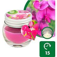 AIRWICK Růžové květy středomoří 30 g - Svíčka