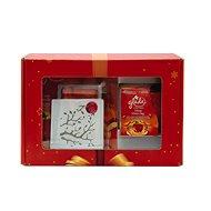 Vánoční balíček GLADE Discreet Electric strojek Jablko/skořice + svíčka Jablko/skořice 120 g 1+8g/12 - Dárková sada
