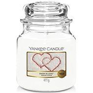 YANKEE CANDLE Classic střední Snow In Love 411 g