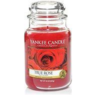 YANKEE CANDLE Classic velký 623 g True Rose - Svíčka