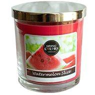 CANDLE LITE Living Colors Watermelon Slice 141 g - Svíčka